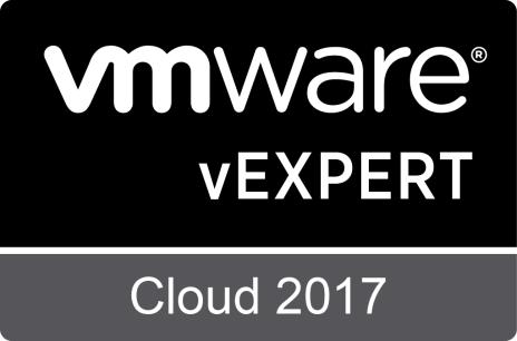 Daniel Romero Sanchez vExpert Cloud 2017